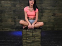 Brutal domination with teen bound and gagged
