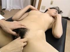 saki-shiina-has-hairy-cunt-measured-and-sucks-doctor-phallus