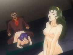 Tied Up Hentai Girl Gets Fucked And Receives An Enema