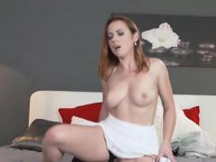 mom sexy redhead blows and bangs muscle man – ناك مرات ابوه فى كسها
