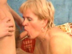 Granny In Wrikley Tit Fucking