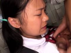 innocent-asian-schoolgirl-tasting-cum-closeup