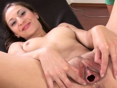 luxury-toy-in-her-spread-vagina-cunt
