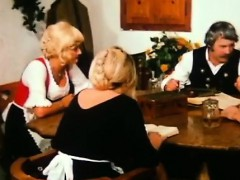 farm-old-man-pleases-younger-blondie-on-his-dining-table