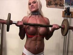 Muscular Ashlee Chambers