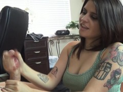 cfnm handjob — raquel from true amateur models
