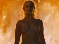 Emilia Clarke Fiery Boobs