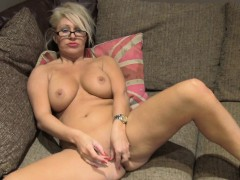 fakeagentuk monster facial for hot blonde milf