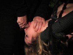 Cute Blonde Tied Up And Mouth Fucked Online
