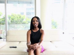 Teenyblack – Ebony Cutie Wants To Be A Pornstar