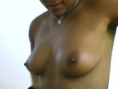 Beautiful African Immigrant Teases Her Mans Camera With A