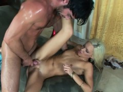 horny coed kacey jordan takes a penis in her sexy pussy