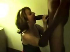 Partner swallows massive bull that is black