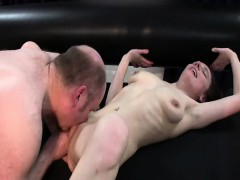 skinny girl slut fist banged by a fat old pervert – سكس اغتصاب وتعذيب نار