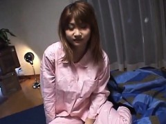 asian schoolgirl sucks cock and gets cunt nailed hard