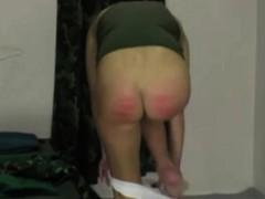 plaid-skirt-spanked-good-by-blonde