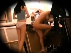 spying group sweet nakded girls in dressing room
