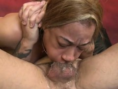 Latina Ezmerelda Has Her Mouth And Pussy Drilled