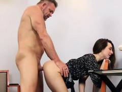 Sexy Brunette Teen Babe Bambi Brooks Fucked By Old Geezer
