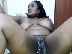 curvaceous-chocolate-lady-fucks-her-cunt-with-a-big-dildo-a