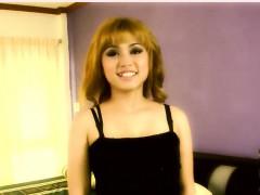 blonde thai slut is flawless