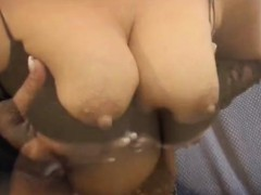 Slut Enjoys Fr And Gives Titty Fuck To Tough Penis