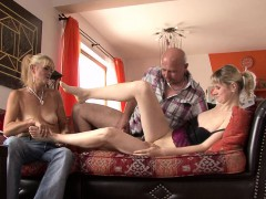 he finds her banging with his old mom and dad