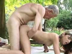 woman step sister masturbating doggy style fucks old guy