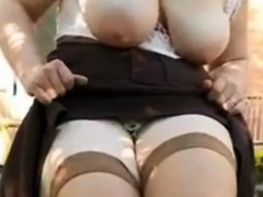 wife-flashes-big-milky-tits-outdoor