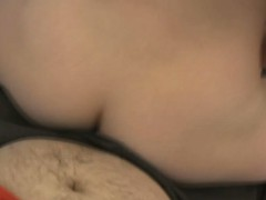 imposing girlfriend provides her dude with a tugjob