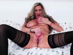 big-titted-european-mature-pleasures-herself