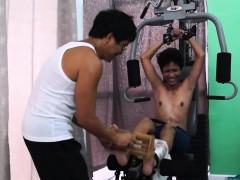 asian-boy-idol-tickled-on-the-gym