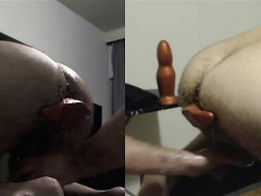 sir-training-my-hole-with-his-fist-xxxl-plug-bullet-dild