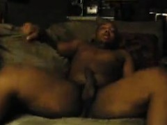 Ebony Coouple Having A Good Time In The Home