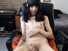 young-brunette-tranny-makes-her-small-cock