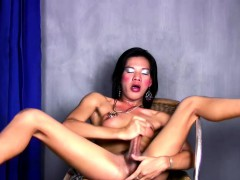 hot-ladyboy-cam-model-is-fingering-her-ass-while-jerking-off