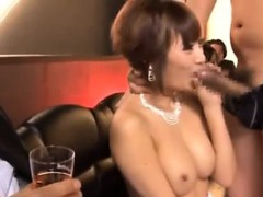Japanese Fuck Ana Facial In Public Pub
