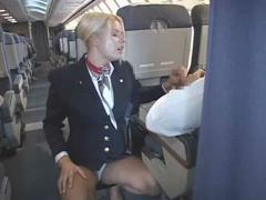 blonde-flight-attendant-and-asian-guy