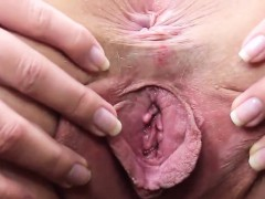 Flirty Czech Teenie Gapes Her Yummy Vagina To The Extreme