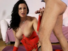 busty brit milf assfucked after clit toying