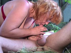 german-milf-mom-and-dad-fuck-outdoor-on-farm