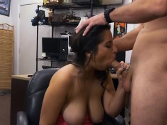 brunette-with-huge-boobs-nina-sucking-in-pawn-shop