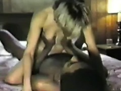Blonde White Woman Discussed With Black Guy For Intercourse