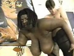 Black big girl gets white dick Alysa from 1fuckdatecom