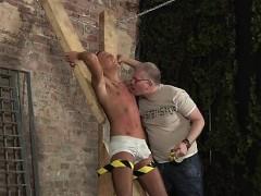Teen Guys Bondage And Asian Gay Nude Bondage He's Bound Up T