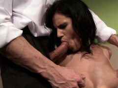 Nipple Tormented Young Babe Dominated