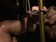 Tied submissive assfucked by maledom Online