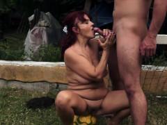 chubby-redhead-granny-fucked-outdoors