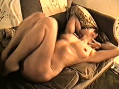 Yvonne's Big Tits Hard Nipples And Hairy Pussy
