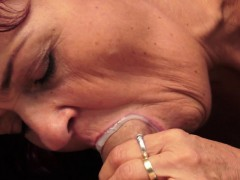Redhead Cougar Fucks And Cumplays